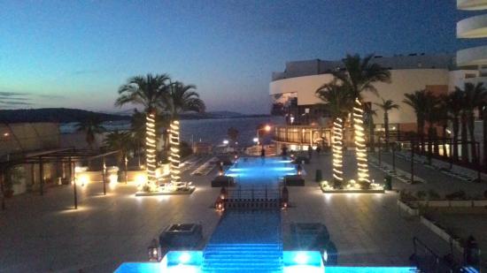terrazza 8° piano - Picture of db San Antonio Hotel + Spa, Qawra ...
