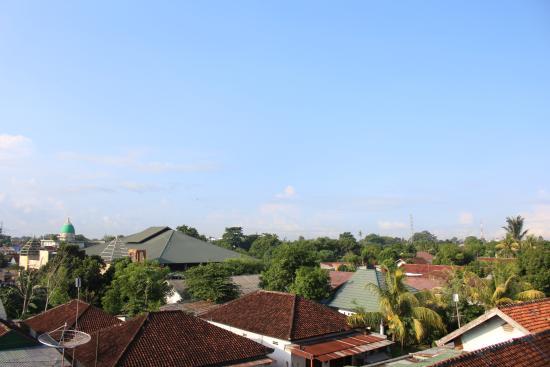 Västra Nusa Tenggara, Indonesien: pemandangan dr balkon