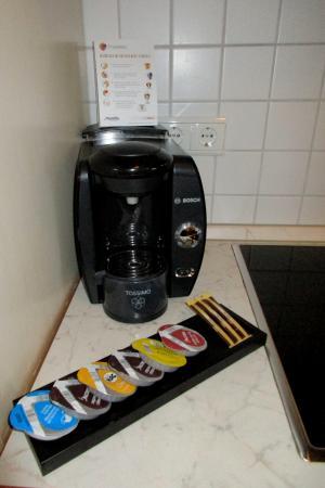Louisa's Place : Kaffee- und Teeangebot
