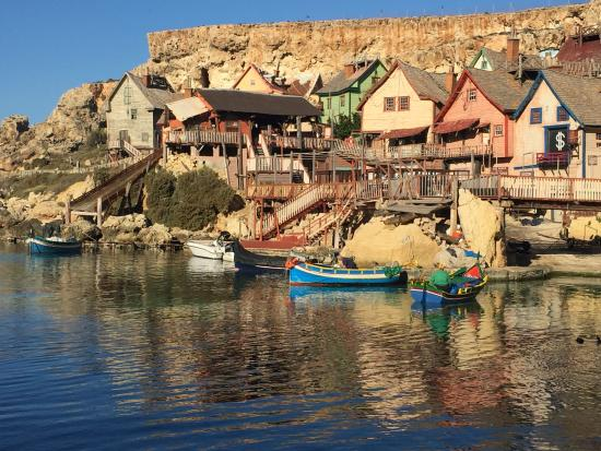 Mellieha, Malta: The Popeye Film Set