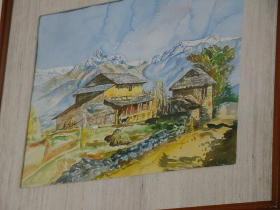 The Everest Hotel : Painting In my Room