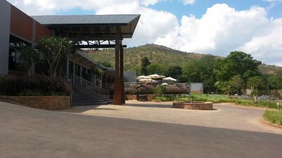 Protea Hotel Hunters Rest: Reception area