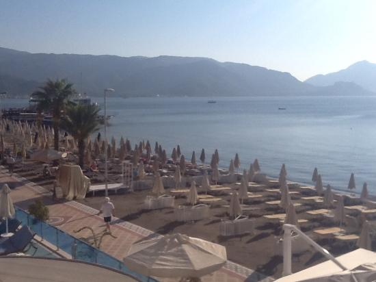Hotel Marbella: Beach