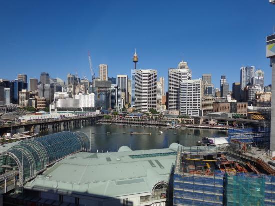 Novotel Sydney on Darling Harbour: La baie