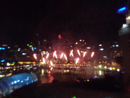 Novotel Sydney on Darling Harbour: Superbes Feux d'artifices