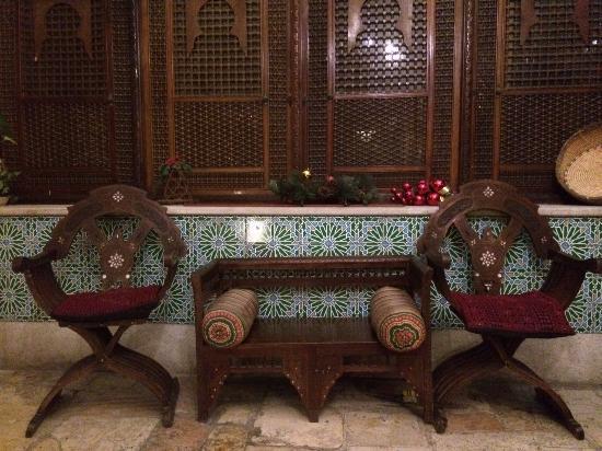 Jerusalem Hotel: Sitting areas