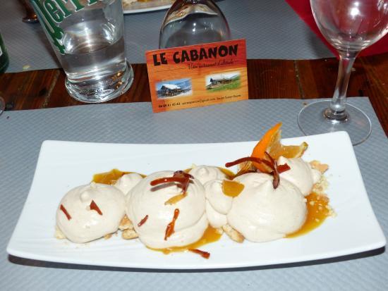 Enchastrayes, Fransa: le dessert