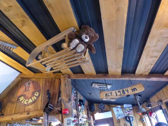 Enchastrayes, Frankrijk: La Luge au Plafond !