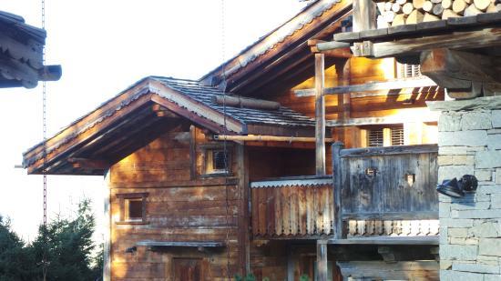 Hotel Residence les Servages: châlet n° 5 à l'extrême gauche étage 1