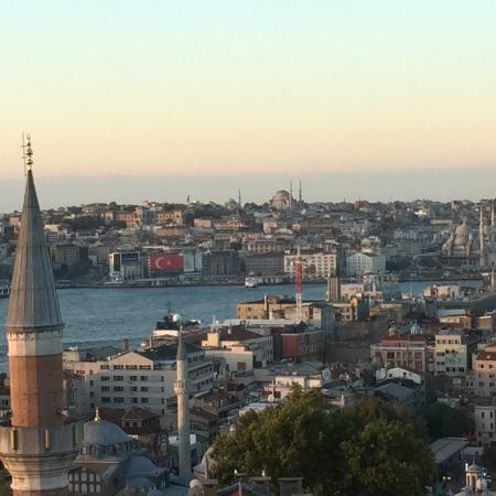 Witt Istanbul Suites: how's that for a room with a view