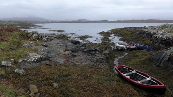 Cashel, Irlanda: Juste devant la maison