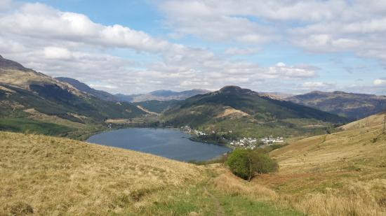 Fascadail Country Guest House: Spectacular view of Loch Long and Arrochar