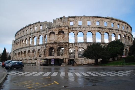 The Arena in Pula: Arena