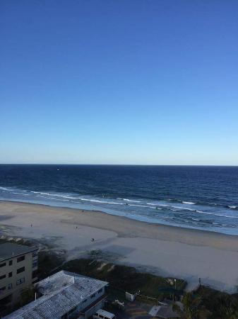 19th Avenue on the Beach: The great view from the apartment.
