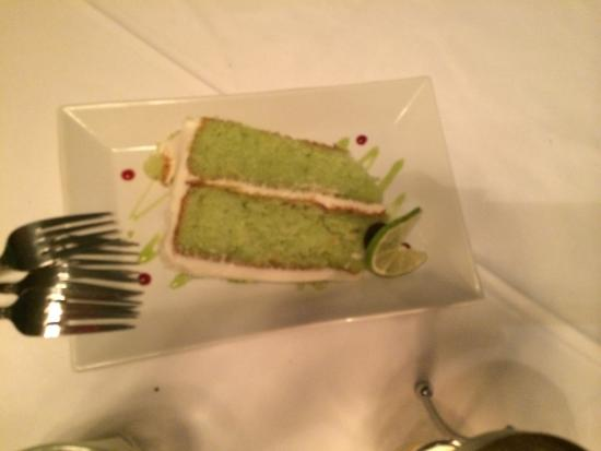 Bristol, TN: key lime cake-yum!