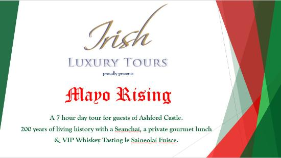 Irish Luxury Tours: Coming soon a new product for Guests of Ashford Castle