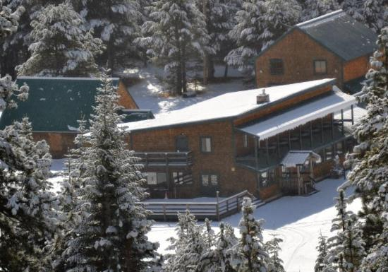 Birds Eye View of Tamarack Lodge at Bear Valley