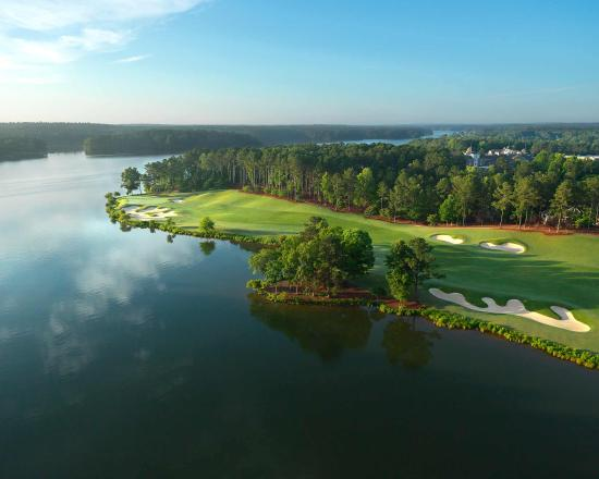 Greensboro, GA: Hole #18 at The Oconee