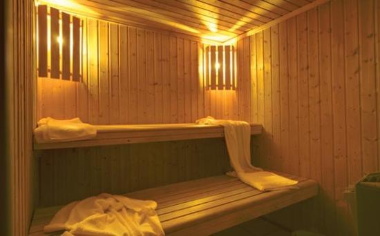 Chalet Lou Trave : Relax in the chalets' sauna