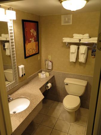 Bathroom picture of best western regency house hotel for Best western bathrooms