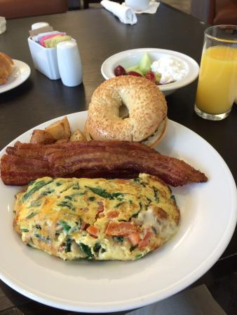Fantastic Breakfast Picture Of Hilton Garden Inn Mountain View Mountain View Tripadvisor
