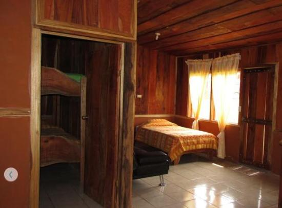 Hotel Roca Verde: sleeping areas - double bed not visible from this angle
