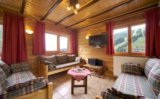 Chalet Seigneurie: Lounge