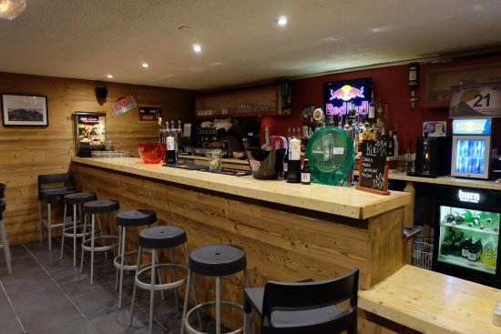 Hotel le Caribou : Bar