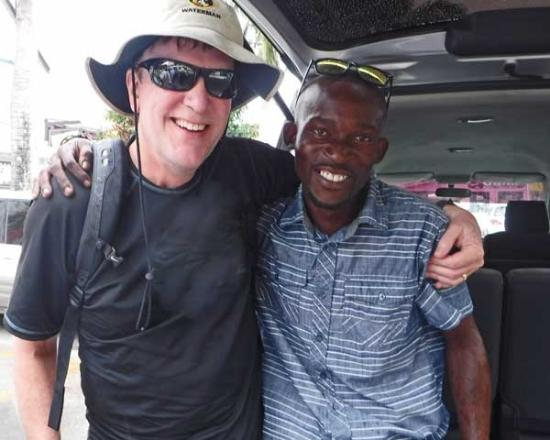 Explore Antigua with Gordan: Our new Caribbean friend, Jerome