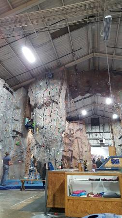 Rancho Cordova, Californien: Granite Arch Climbing Center