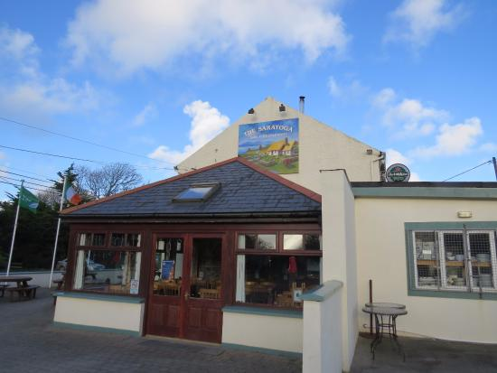 Woodstown, Irlanda: The Saratoga - not forgetting The Three Sisters Cafe - in December 2013