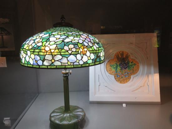 Museum of the Albemarle: Tifaney Lamp