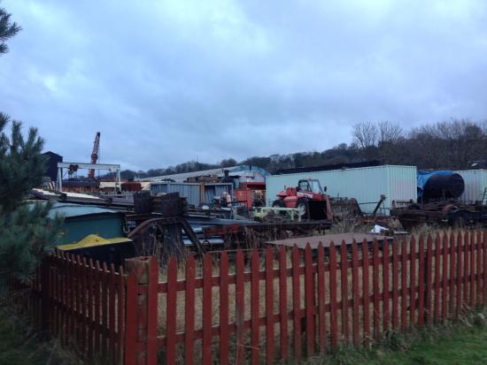 Bo'ness, UK: Scrapyard or railway?