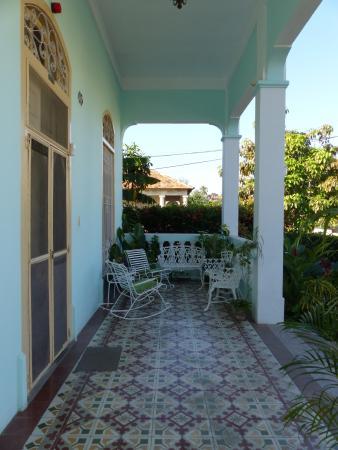 Casa Gallart : Patio extérieur