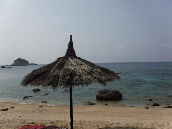 Coral View Resort Thailand : vue sur Shark Island