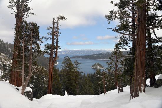 South Lake Tahoe, Californien: Emerald Bay Vista view