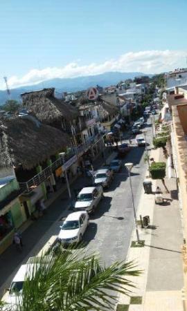 Hotel Casa de Pakal : vista desde el balcon