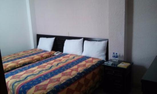 Hotel Casa de Pakal : habitacion comoda