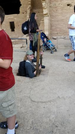 Mesa Verde Tours: Here she is!