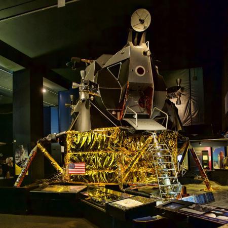 A replica Apollo 11 lunar landing module - Picture of ...