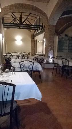Province of Grosseto, Italien: interioro ristorante