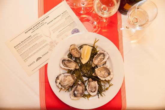 Shaw's Crab House: Special Oyster Tasting Evemt
