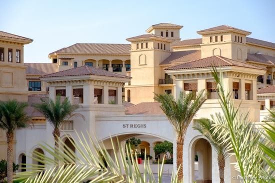 The St. Regis Saadiyat Island Resort: Entrance