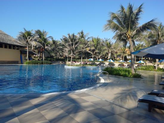 Pandanus Resort: Чистый бассейн