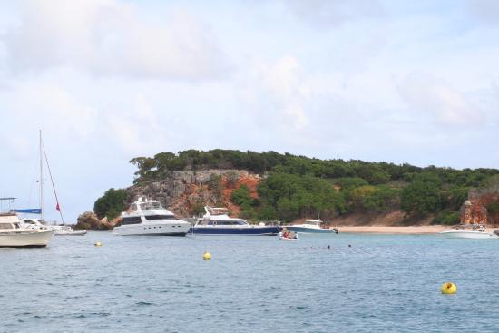 Simpson Bay, St-Martin/St Maarten: Tintamarre