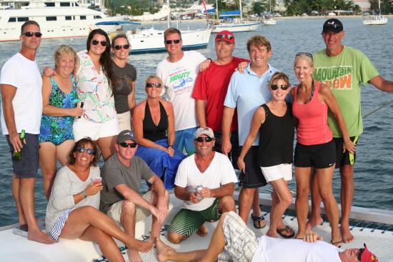 bahía de Simpson, St Martin / St Maarten: End of sail