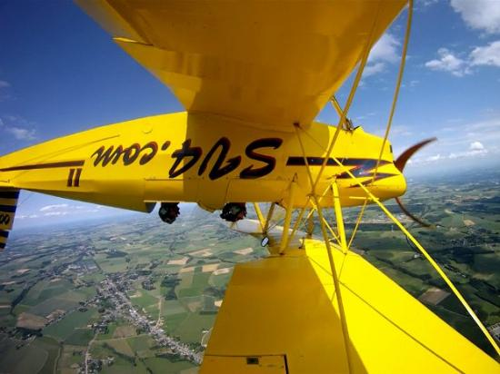 Suarlee, Belgique : Stampe in action