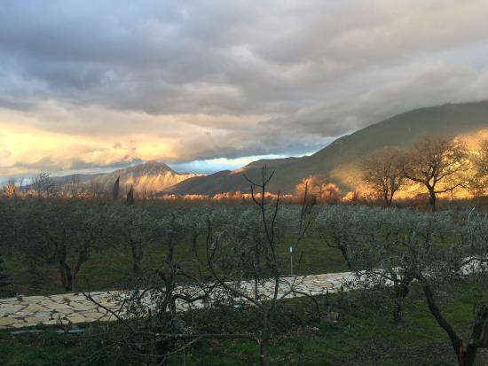 Conca della Campania, Włochy: il paesaggio