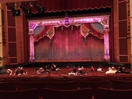 Marcus Center: View of Stage for The Nutcracker from Row V
