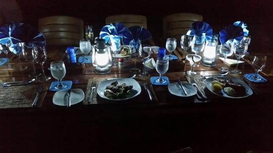 Turtle Island Resort: Dinner